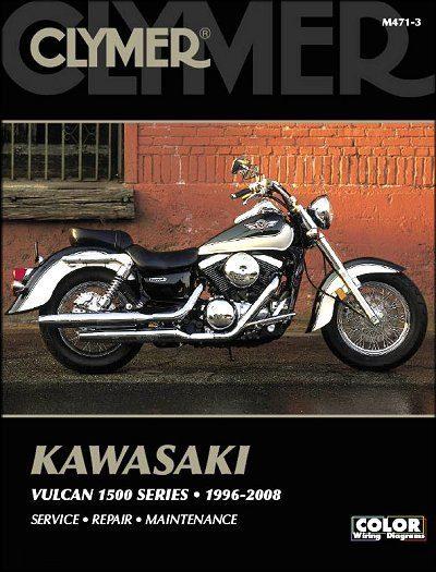 Kawasaki Vulcan 1500 Classic, Drifter, Nomad Repair Manual 1996-2008