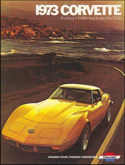 1973 Chevrolet Corvette Stingray Sales Brochure