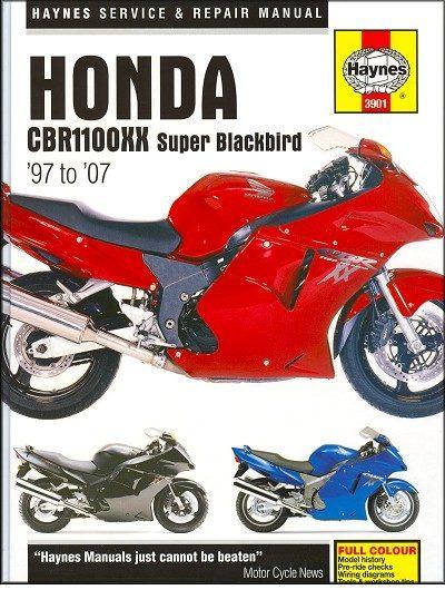 Honda CBR1100XX Super Blackbird Repair Manual 1997-2007