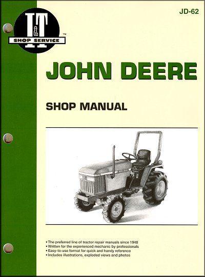 John Deere Tractor Repair Manual 670, 770, 870, 970, 1070