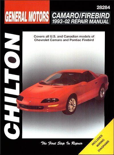 Chevy Camaro, Pontiac Firebird Repair Manual 1993-2002