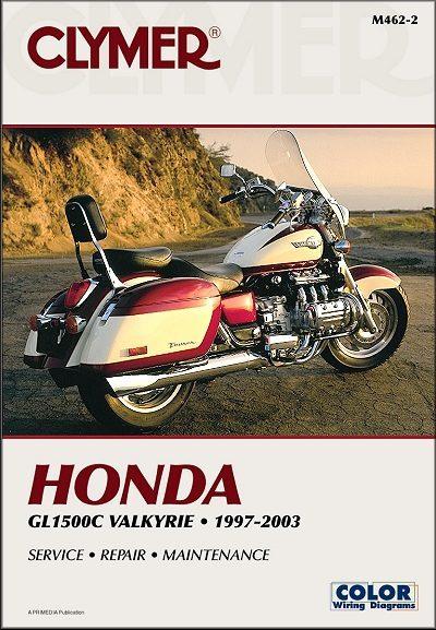 Honda GL1500C Valkyrie Repair Manual 1997-2003