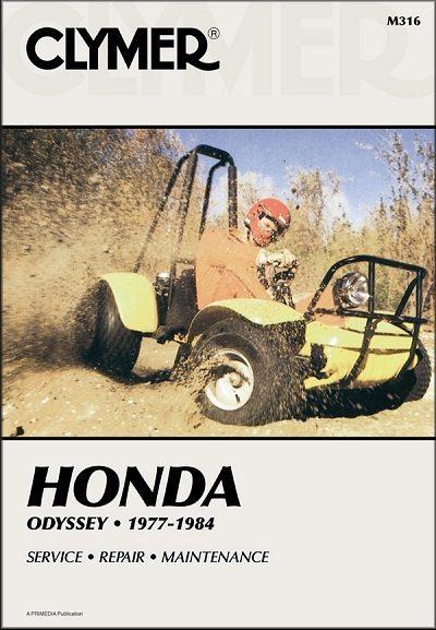 Honda Odyssey FL250 ATV Repair Manual 1977-1984