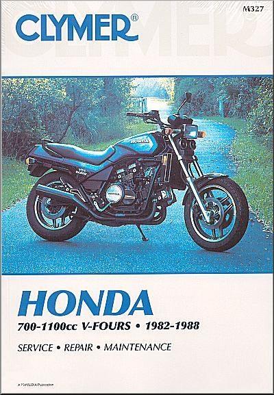 Honda VF700, VF750, V45 Sabre, VF1100, V65 Magna, Sabre Repair Manual 1982-1988