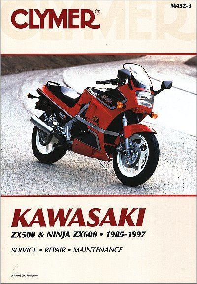 Kawasaki ZX500, ZX600 Ninja Repair Manual 1985-1997