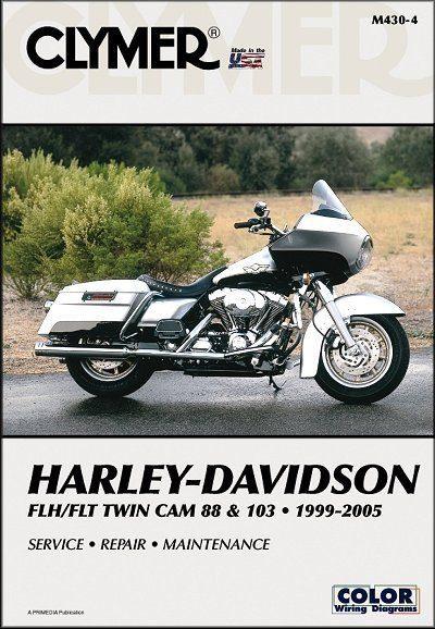 Harley-Davidson FLH, FLT Twin Cam 88 & 103 Repair Manual 1999-2005