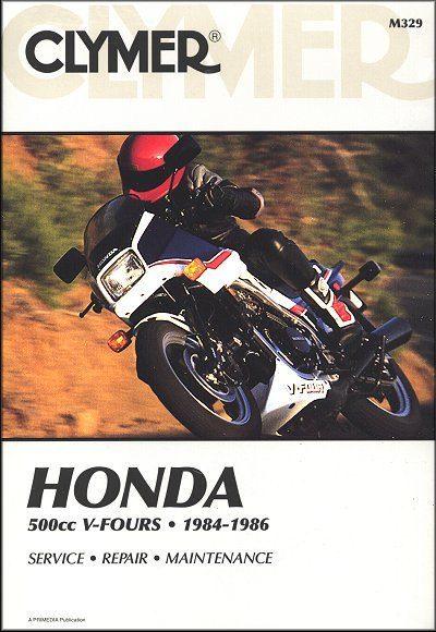 Honda VF500, Magna, Interceptor Repair Manual 1984-1986