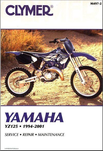 Yamaha YZ125 Repair Manual 1994-2001