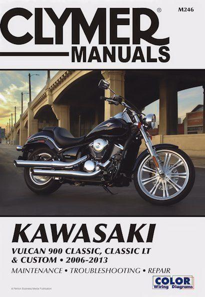 Kawasaki Vulcan 900 Classic, Classic LT & Custom 2006-2013