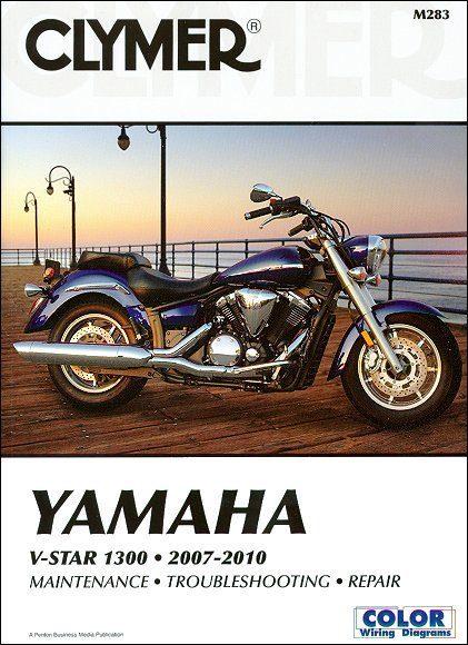 Yamaha V-Star 1300 XVS13A, XVS13CT Repair Manual 2007-2010