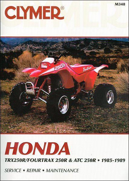 Honda TRX250R, Fourtrax 250R, ATC250R ATV Repair Manual 1985-1989