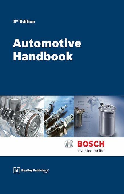 Bosch Automotive Handbook 9th Edition