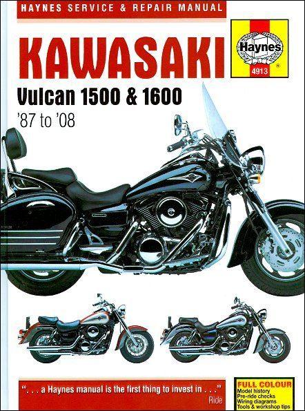 Kawasaki Vulcan 1500, Vulcan 1600 Repair Manual 1987-2008