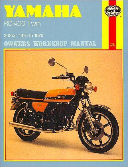 Yamaha RD400 Twin Repair Workshop Manual 1975-1979