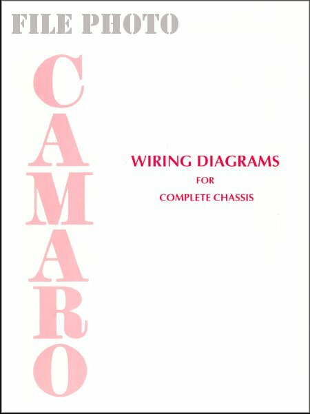 Camaro Chassis Wiring Diagrams 1967-1976
