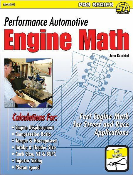 Performance Automotive Engine Math: For Street and Race Applications