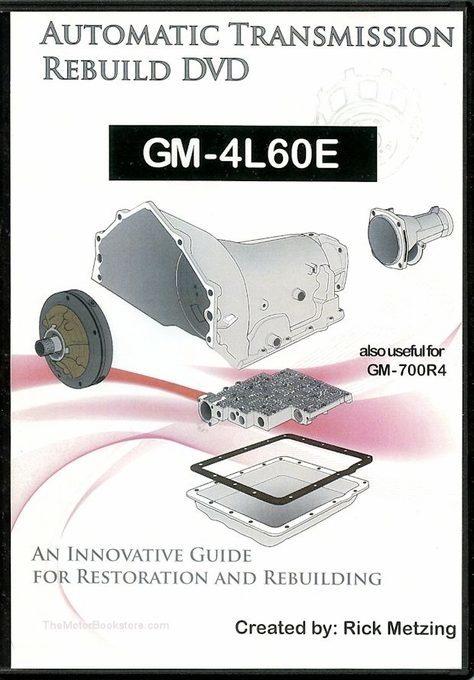 GM-4L60E Automatic Transmission Rebuild DVD