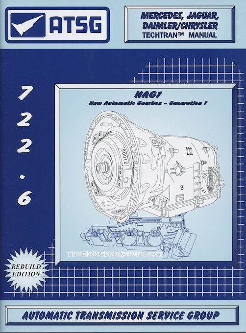 Mercedes, Jaguar, Daimler/Chrysler Transmission Repair Manual: 1996-2016