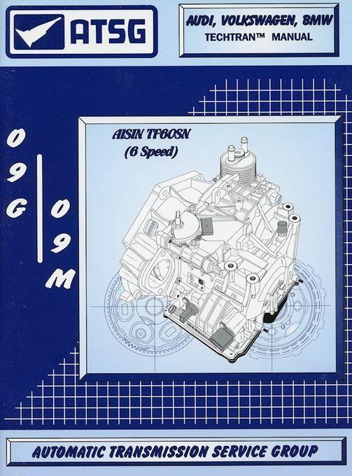 Audi / Volkswagen / MINI Transmission Repair Manual: 2003-Up
