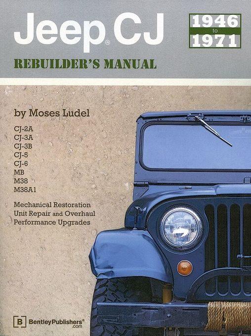 Jeep CJ Rebuilder's Manual (CJ, MB, M38, M38A1): 1946-1971