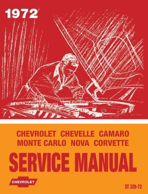 1972 Chevrolet Service Manual