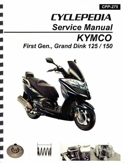 KYMCO Grand Dink 125 / 150 Scooter Manual
