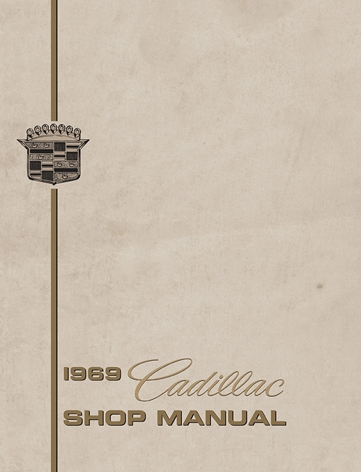 1969 Cadillac OEM Factory Shop Manual