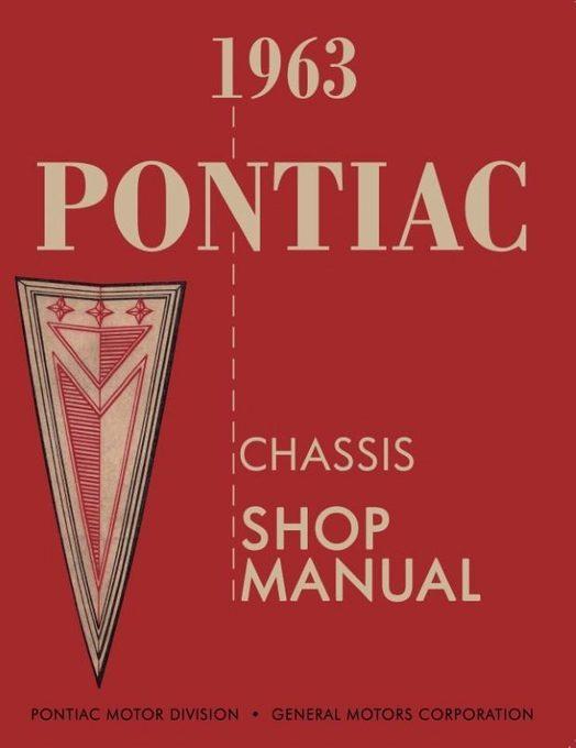 1963 Pontiac Chassis Shop Manual