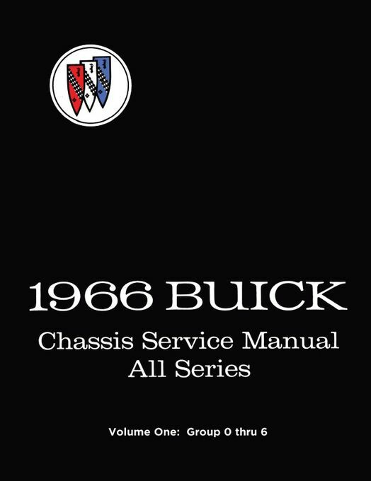1966 Buick Chassis Service Manual - All Series