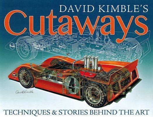 David Kimble's Cutaways - Automotive Art Book
