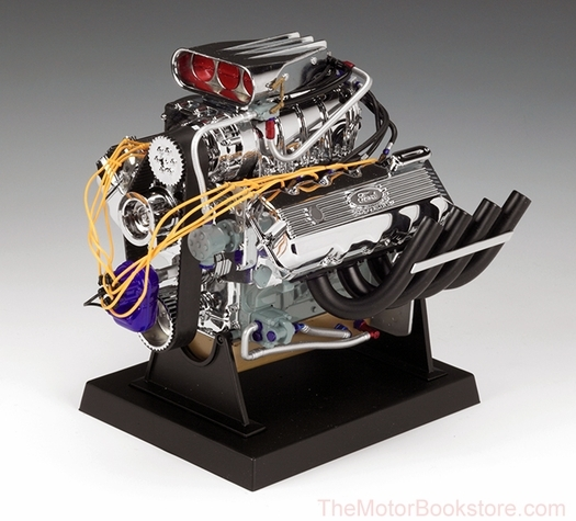 Ford Top Fuel Dragster Engine (427 SOHC) Diecast, 1:6 Scale