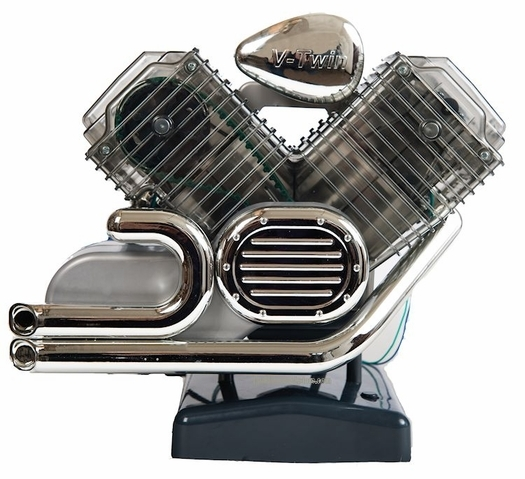 Build Your Own V-Twin Motorcycle Engine