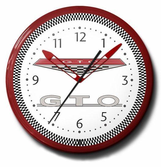 Pontiac GTO Neon Clock (Logo): High Quality, Licensed, 20 Inch