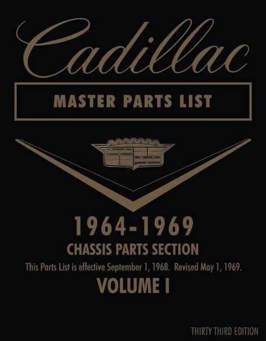 1964 - 1969 Cadillac Master Parts List (2-Vol Set)