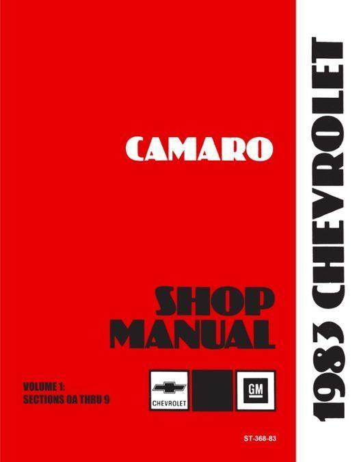 1983 Chevrolet Camaro Shop Manual