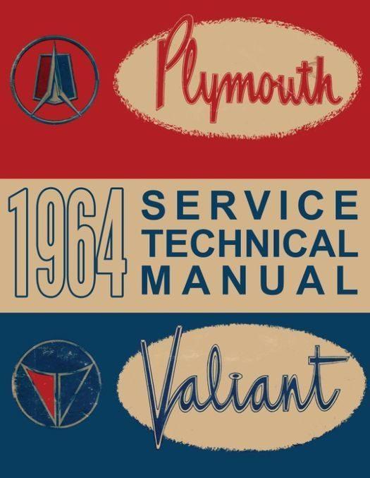 1964 Plymouth Shop Manual