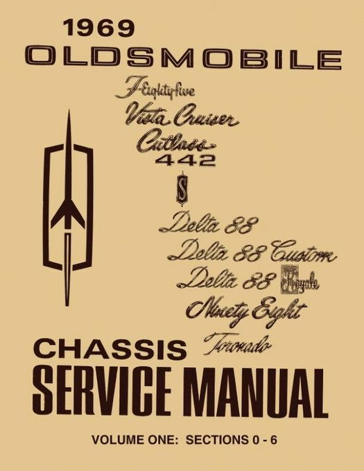 1969 Oldsmobile Chassis Service Manual