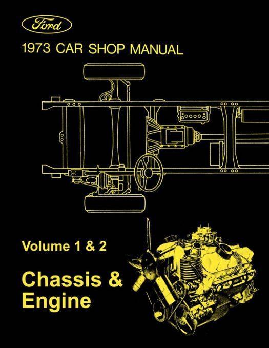 1973 Ford / Lincoln / Mercury Shop Manual - 5 Volumes
