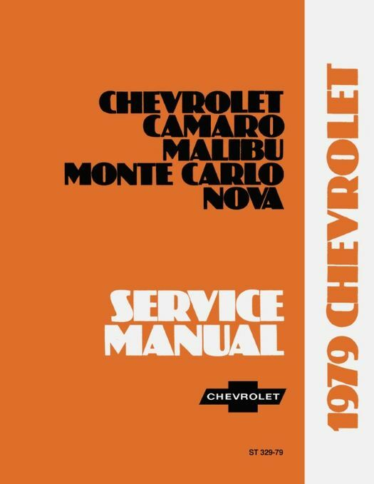 1979 Chevrolet Service Manual