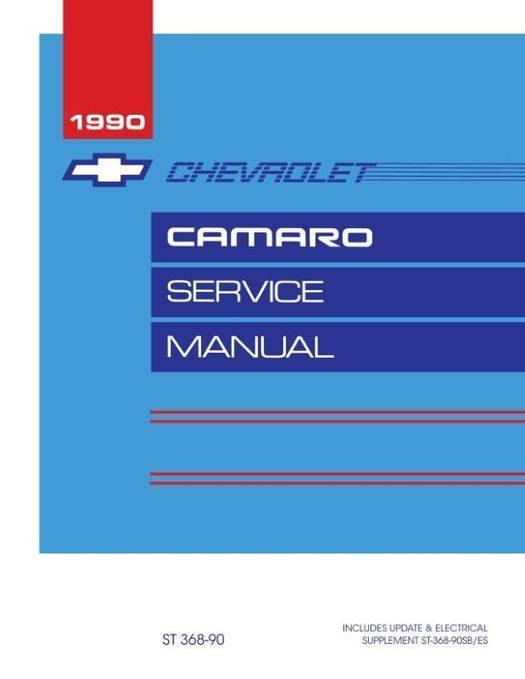 1990 Chevy Camaro Service Manual
