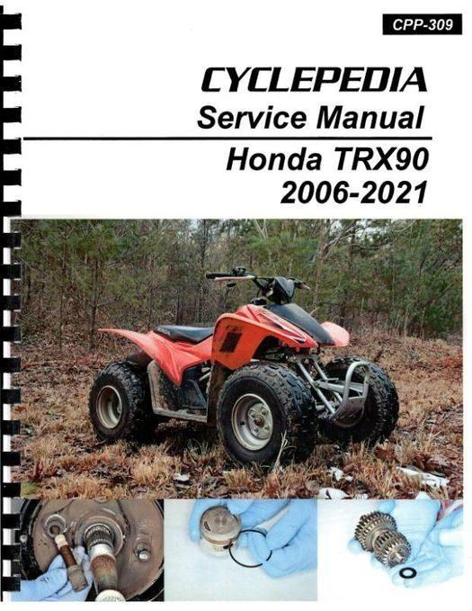 Honda TRX90 Service Manual 2006-2021