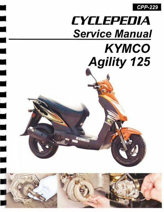 KYMCO Agility 125 Scooter Service Manual