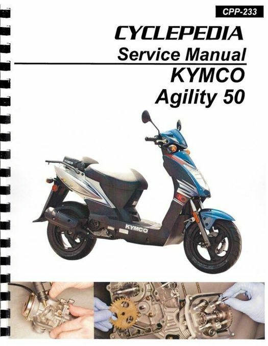 KYMCO Agility 50 Scooter Service Manual
