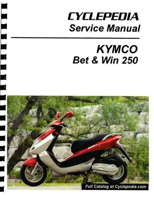 KYMCO Bet & Win 250 Service Manual 2002-2007