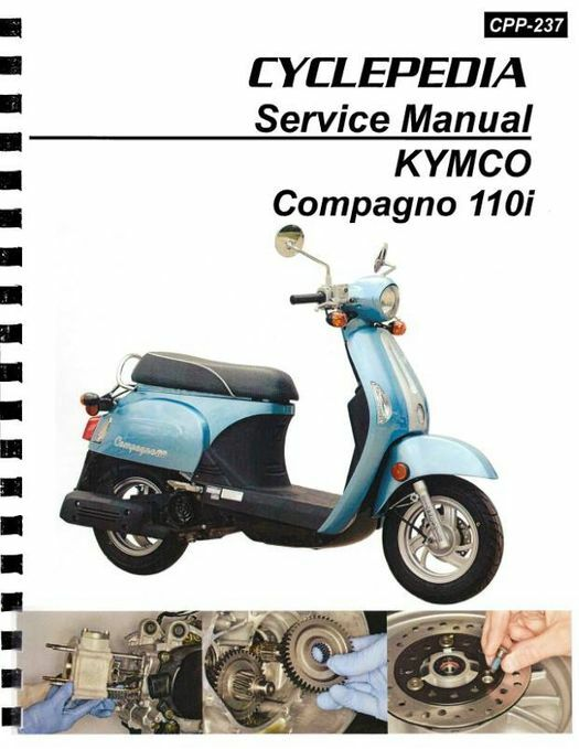 KYMCO Compagno 110i Scooter Service Manual