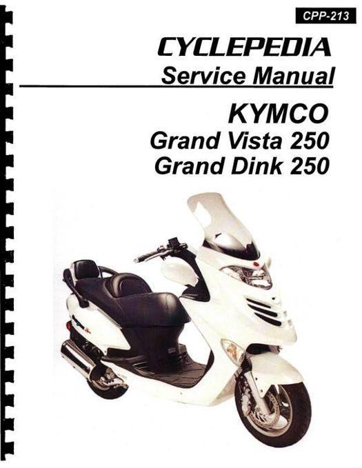 KYMCO Grand Vista 250 Service Manual 2004-2010