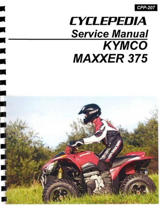 KYMCO MAXXER 375 ATV Service Manual 2010-2012