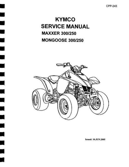 KYMCO Mongoose & MAXXER 250 / 300 ATV Service Manual