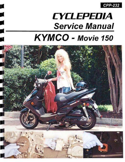 KYMCO Movie 150 Scooter Service Manual