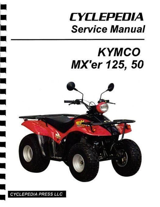 KYMCO MX'er 125 / 150 ATV Service Manual 2002-2005
